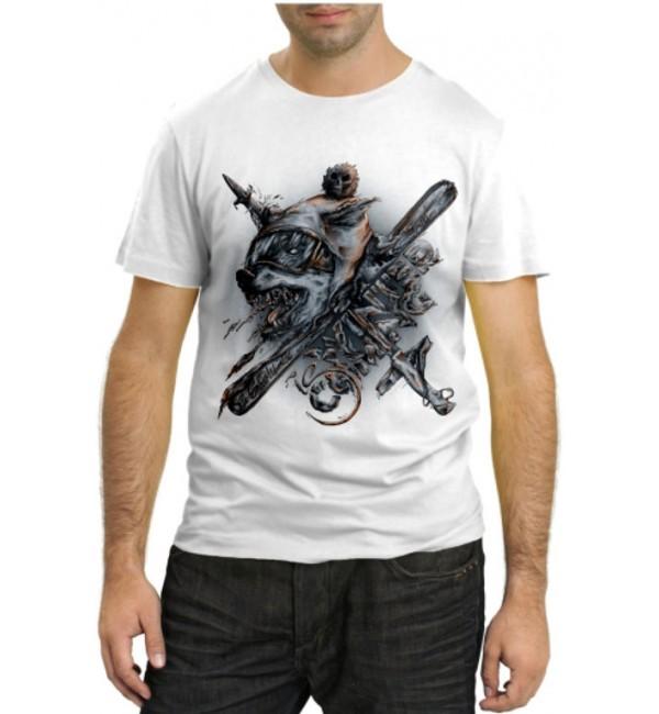 Модная футболка Волк Hunter