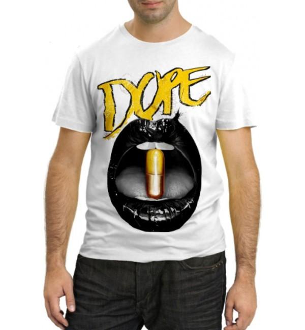 Модная футболка Допинг