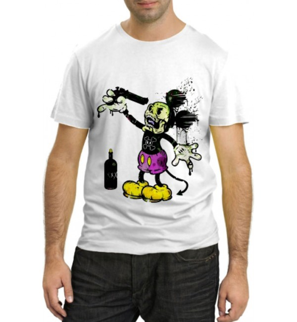 Модная футболка Сумасшедший Маус