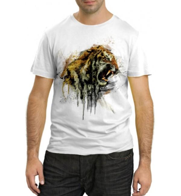 Модная футболка Тигр фэнтази
