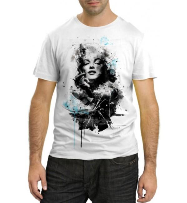 Модная футболка Мерлин Монро