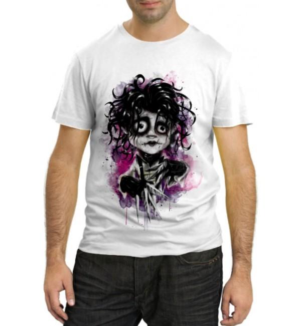 Модная футболка Эдвард руки-ножницы
