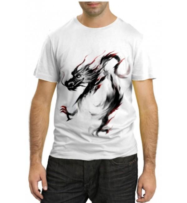 Модная футболка Дракончик