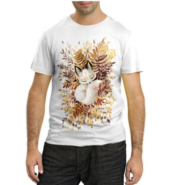 Модная футболка Лисенок
