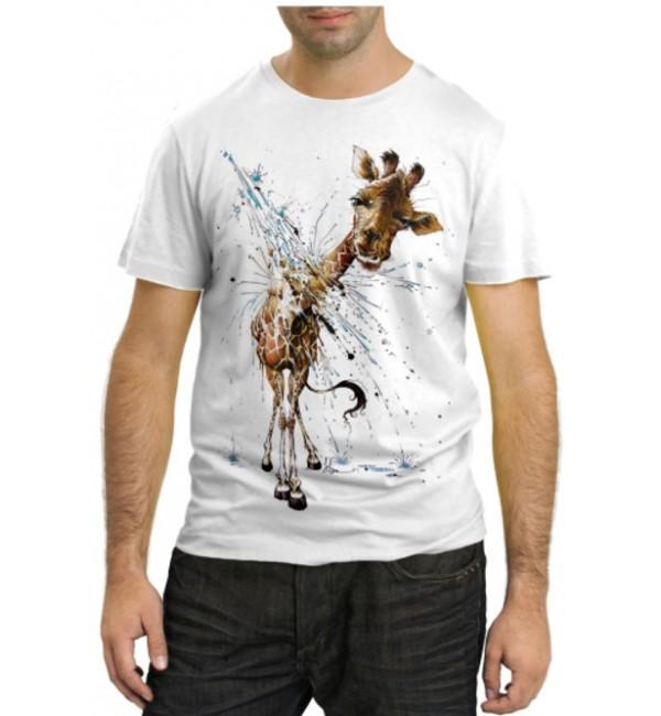 Модная футболка Жирафик