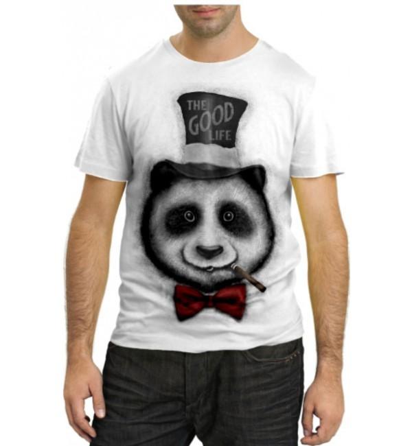Модная футболка The good life