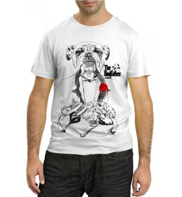 Модная футболка Пес крестный отец