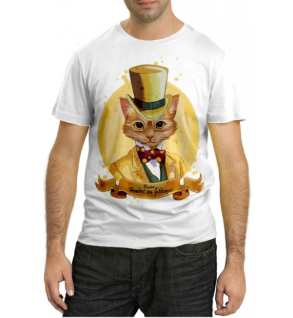 Модная футболка Барон