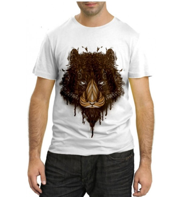 Модная футболка Лев