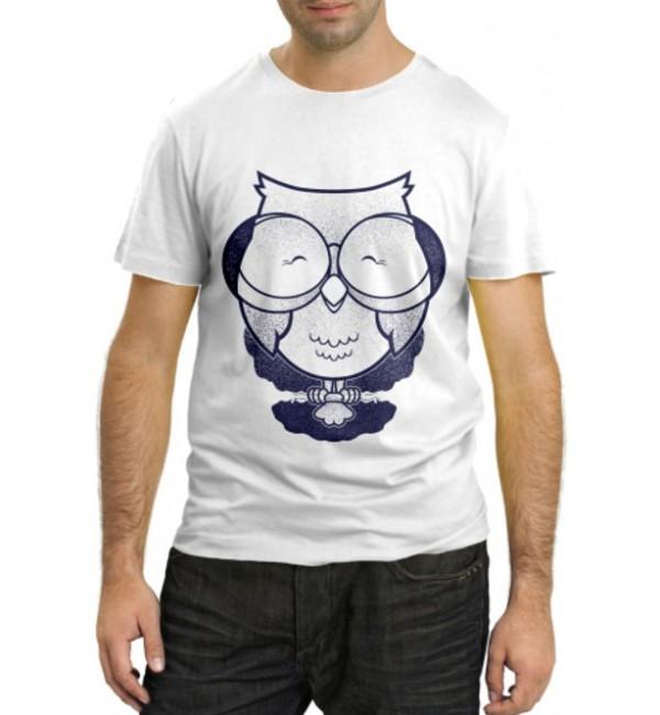 Модная футболка Ученая Сова