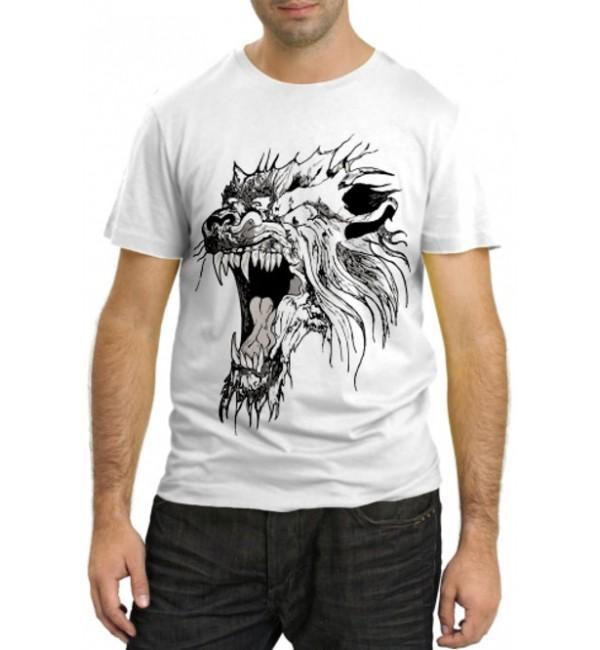 Модная футболка Звериный оскал