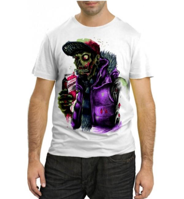 Модная футболка Просто зомби