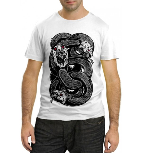Модная футболка Змеи