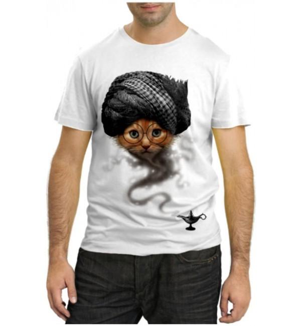 Модная футболка Кот-Джин