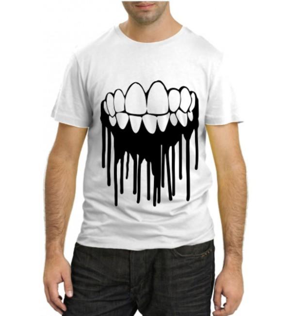 Модная футболка Челюсти