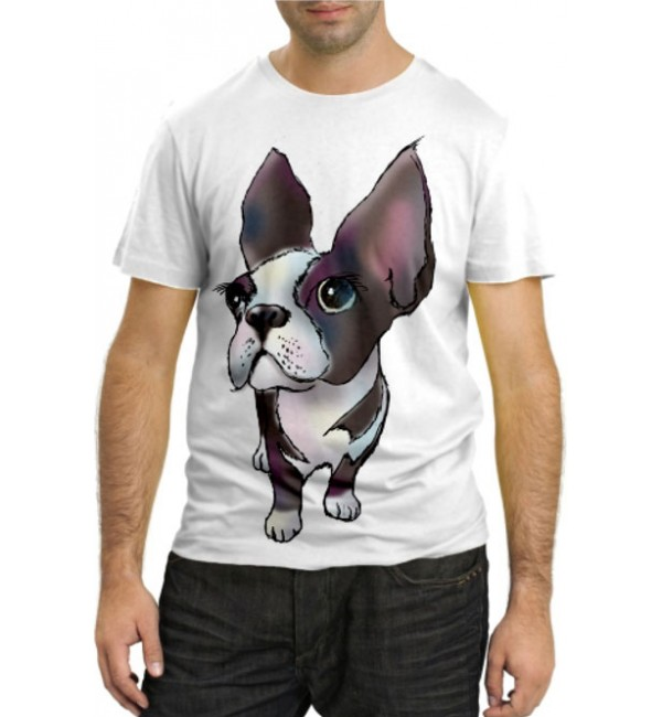Модная футболка Собачка