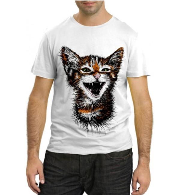 Модная футболка Котенок
