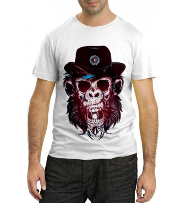 Модная футболка Обезьяна рейнджер