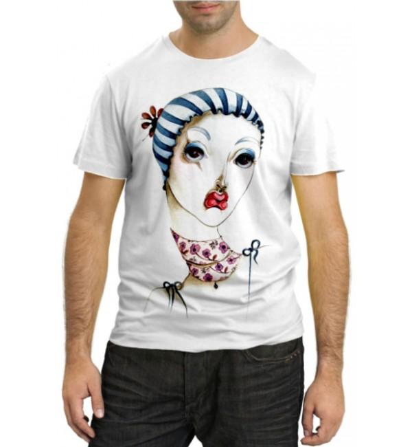 Модная футболка Girl