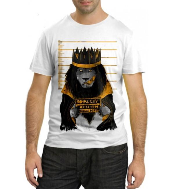 Модная футболка Король города