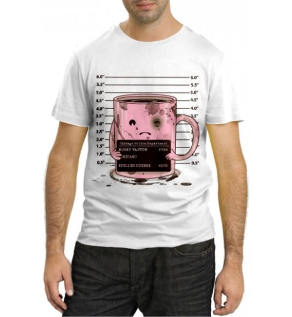 Модная футболка Чашка кофе