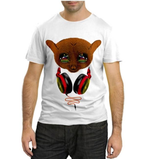 Модная футболка Зверюшка Ди-Джей