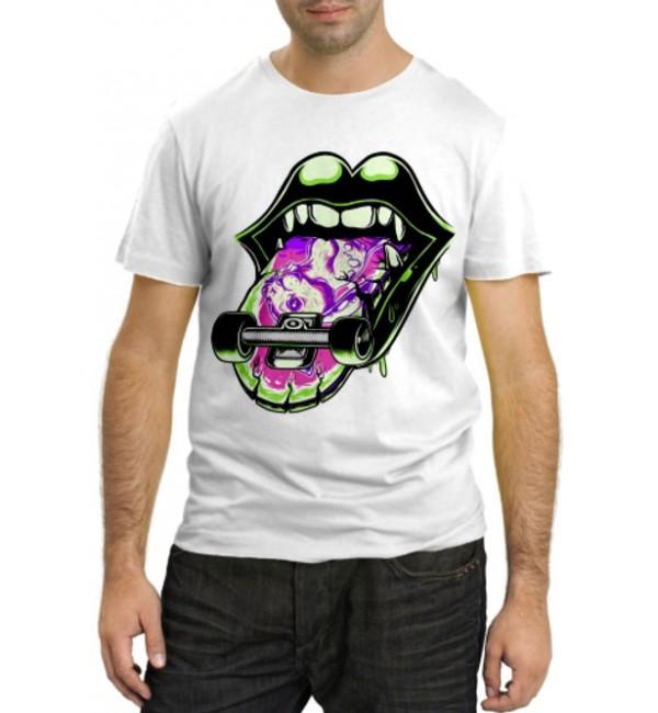 Модная футболка Скейтборд
