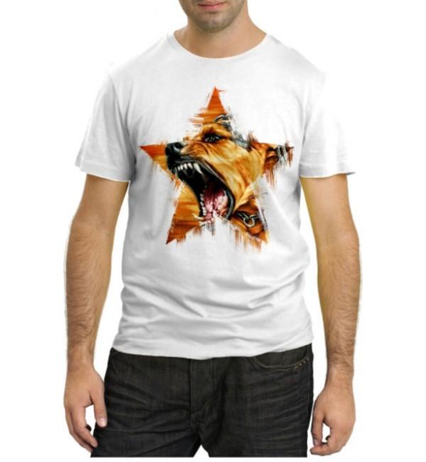 Модная футболка Bear a Star
