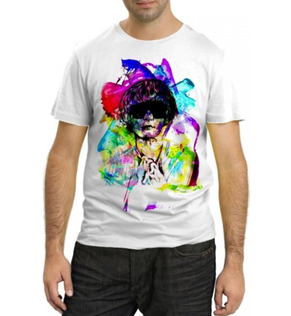 Модная футболка Человек-загадка