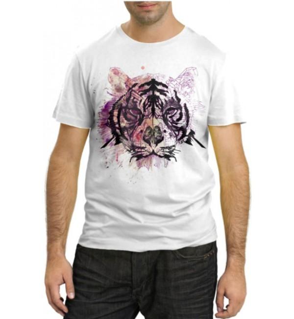 Модная футболка Голова тигра