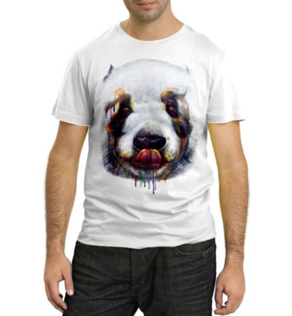 Модная футболка Морда большой собаки