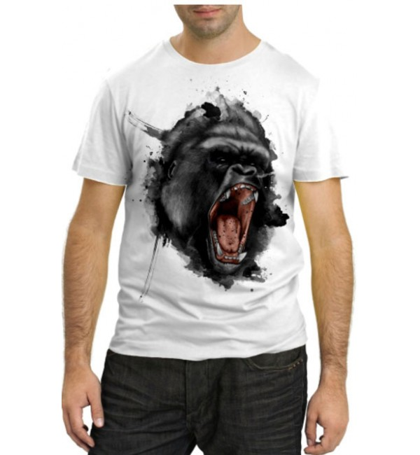 Модная футболка Горилла кричит