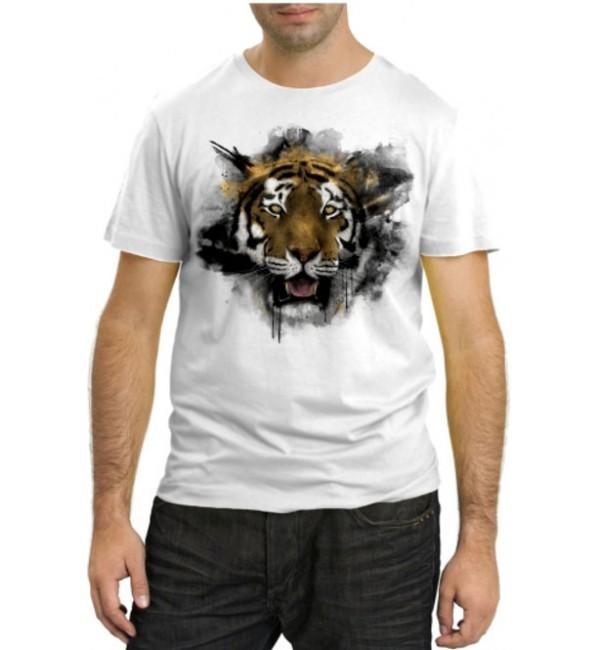 Модная футболка Тигр