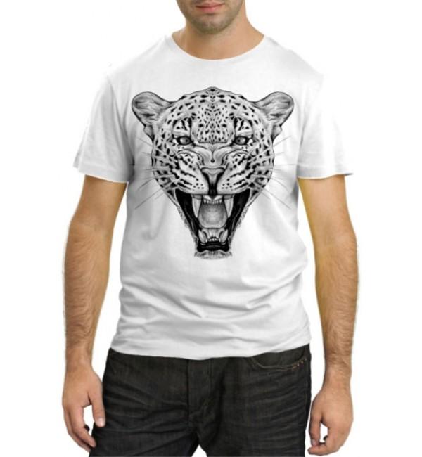 Модная футболка Ягуар рычит