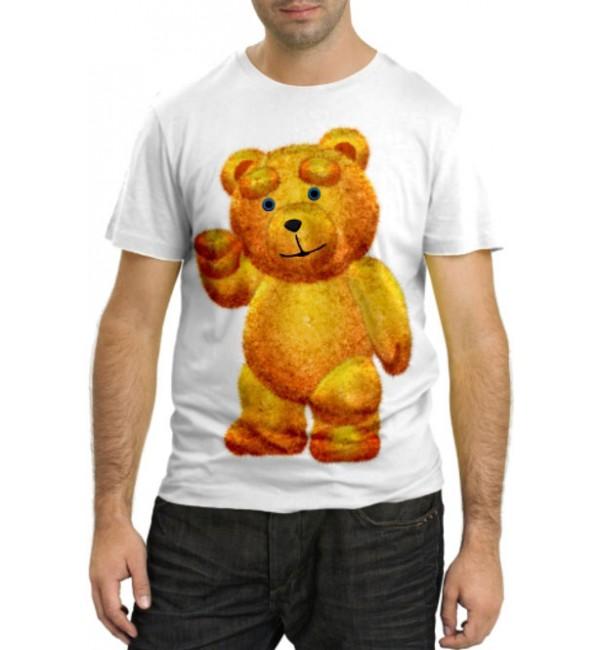 Модная футболка Плюшевый мишка