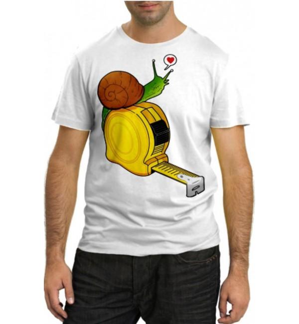 Модная футболка Улитка на рулетке