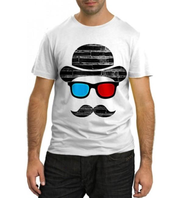 Модная футболка Человек-невидимка