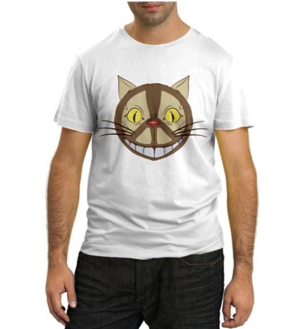 Модная футболка Кот пацифист