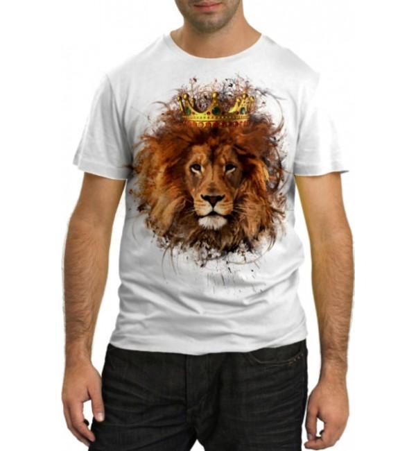 Модная футболка Царь зверей