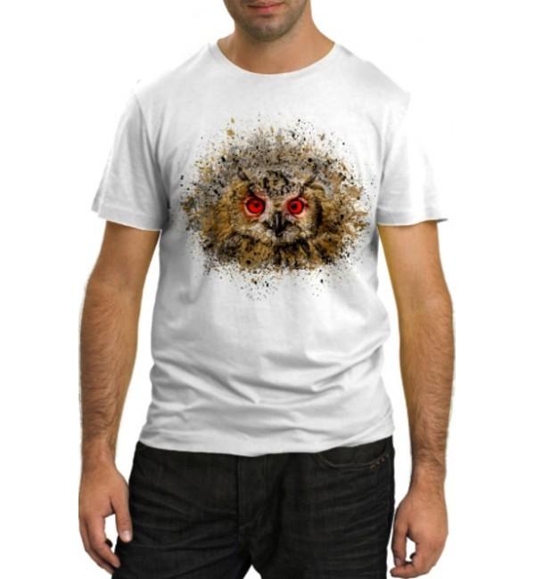 Модная футболка Сова