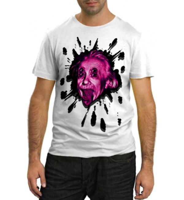 Модная футболка Einstein