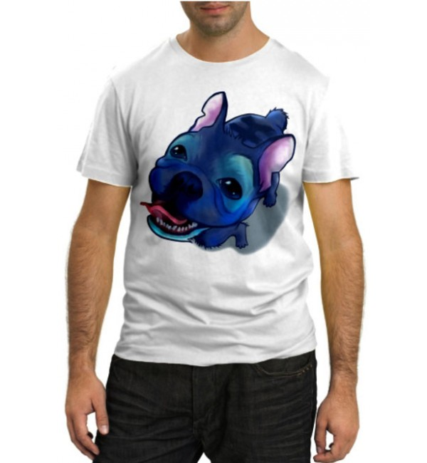 Модная футболка Blue dog