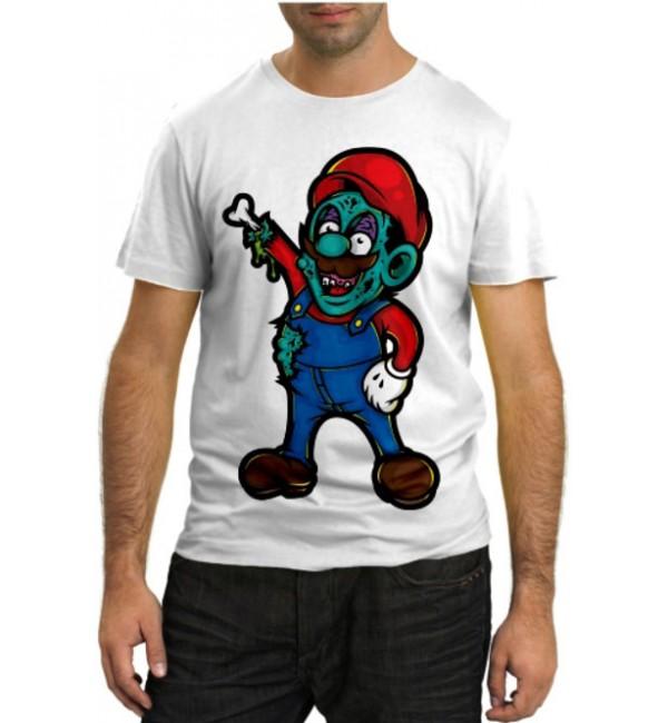 Модная футболка Марио