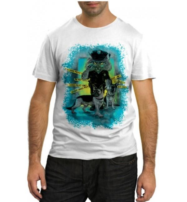 Модная футболка Policecat K9