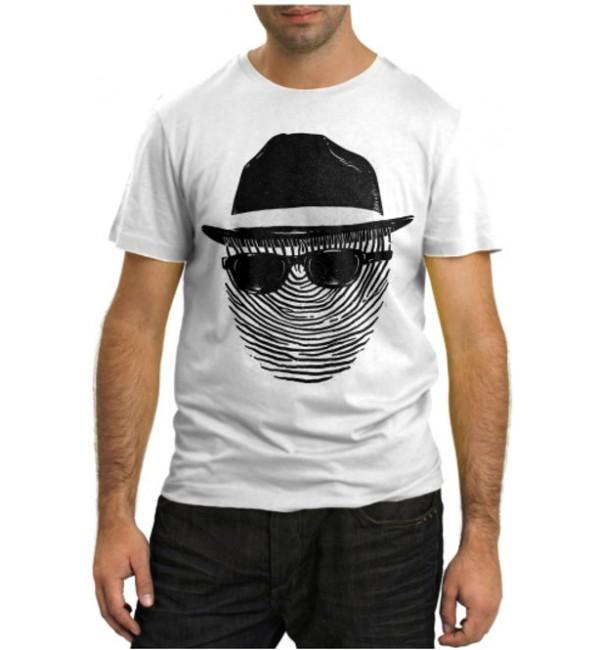 Модная футболка Invisible man