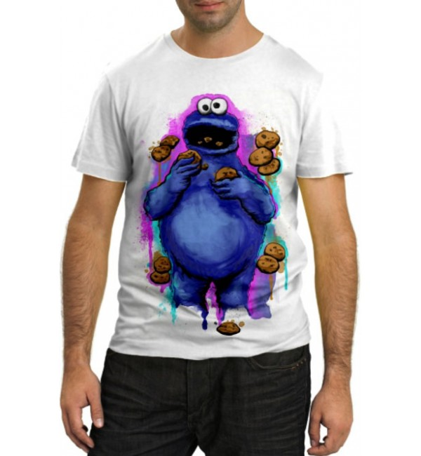 Модная футболка Обжора