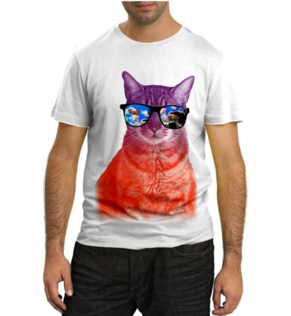 Модная футболка Кошачья мечта