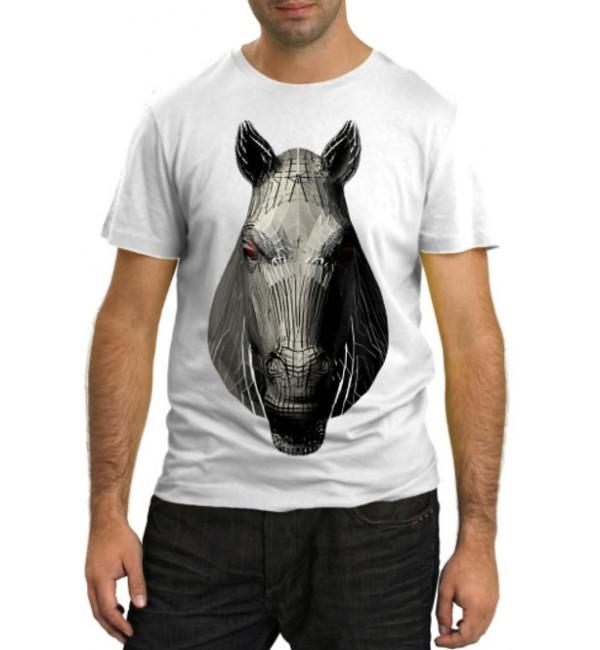 Модная футболка Лошадиная морда