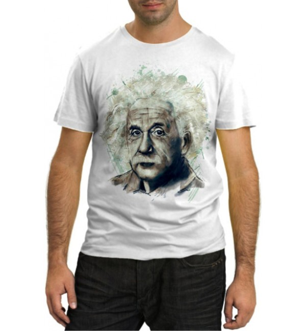 Модная футболка Энштейн