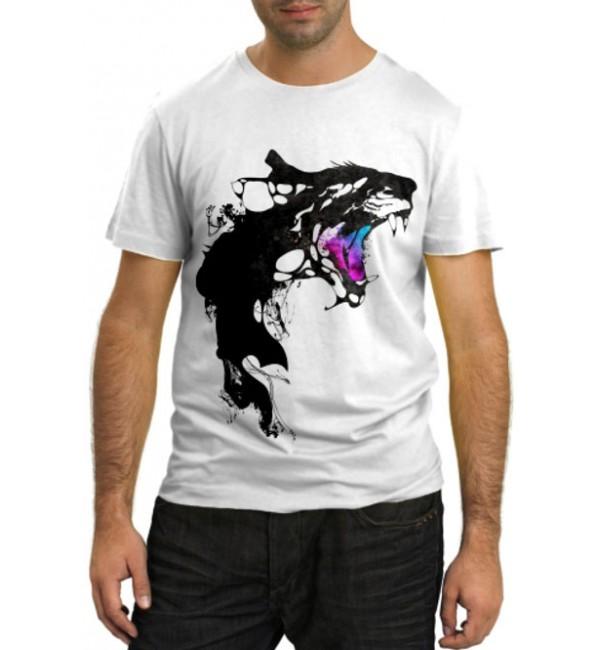 Модная футболка Оскал